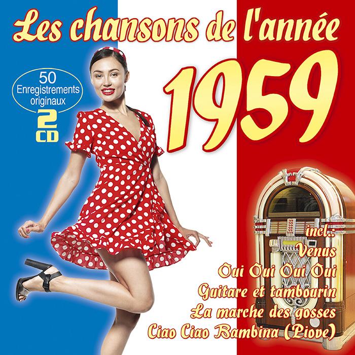 Les chansons de l'annee 1959
